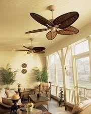 Ventiladores de techo para el hogar pinterest interiors - Ventiladores de techo antiguos ...