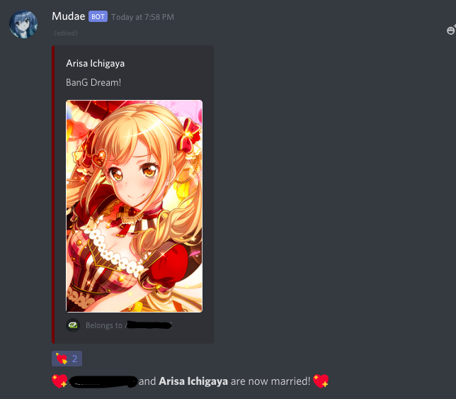 So my friend's Discord channel has a bot with a waifu