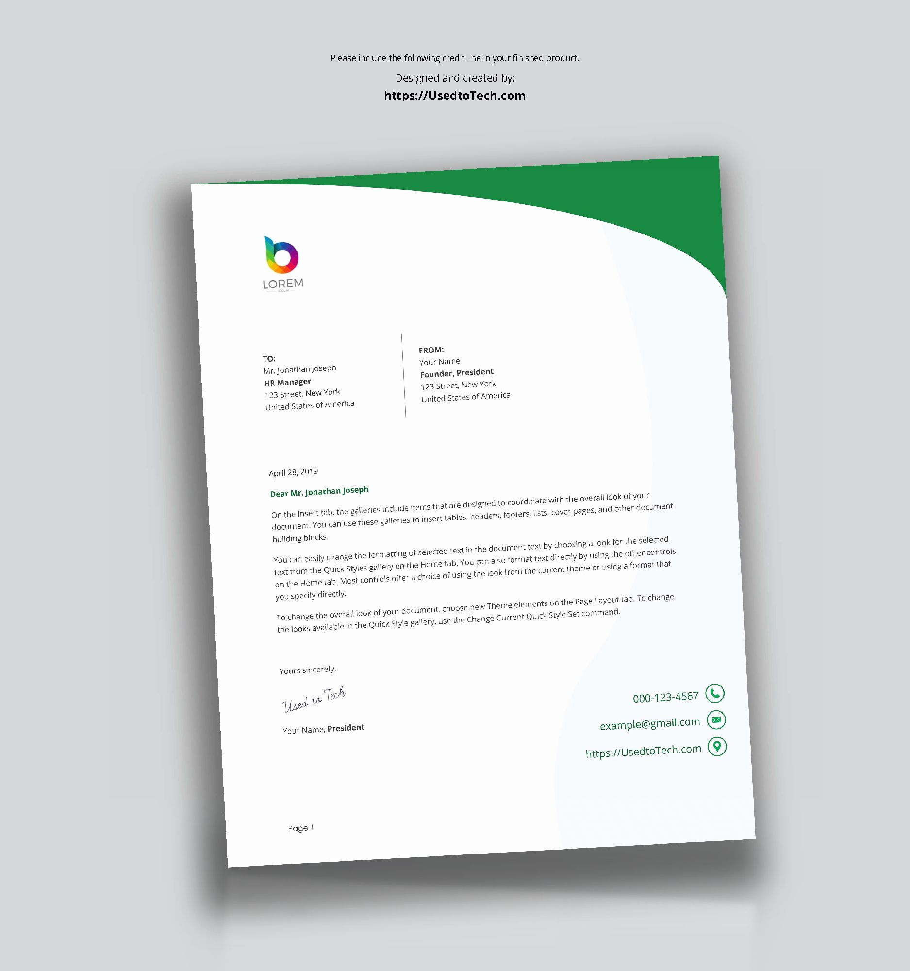 24 word letterhead template free in 2020 good objective for retail resume example doc shipping manager sample