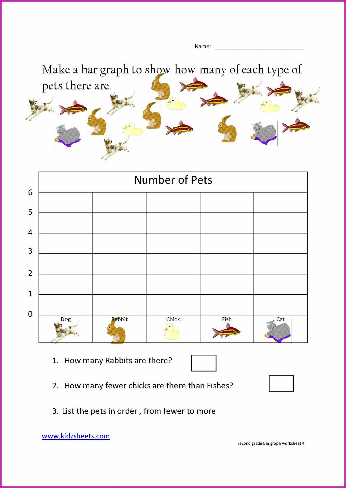 Pictograph For 2nd Grade First Grade Worksheets Kids Math Worksheets Graphing Worksheets
