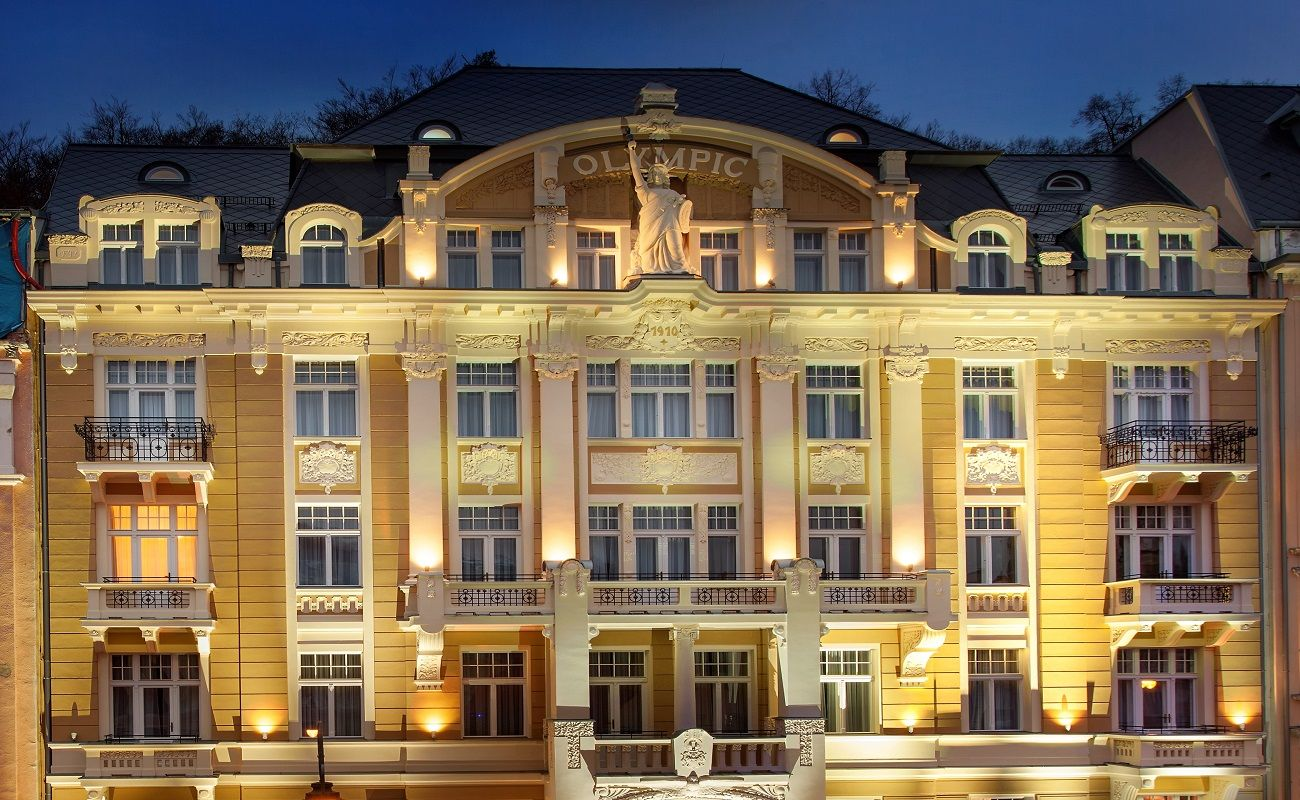 Luxury Spa Hotel Olympic Palace Karlovy Vary Czech Republic