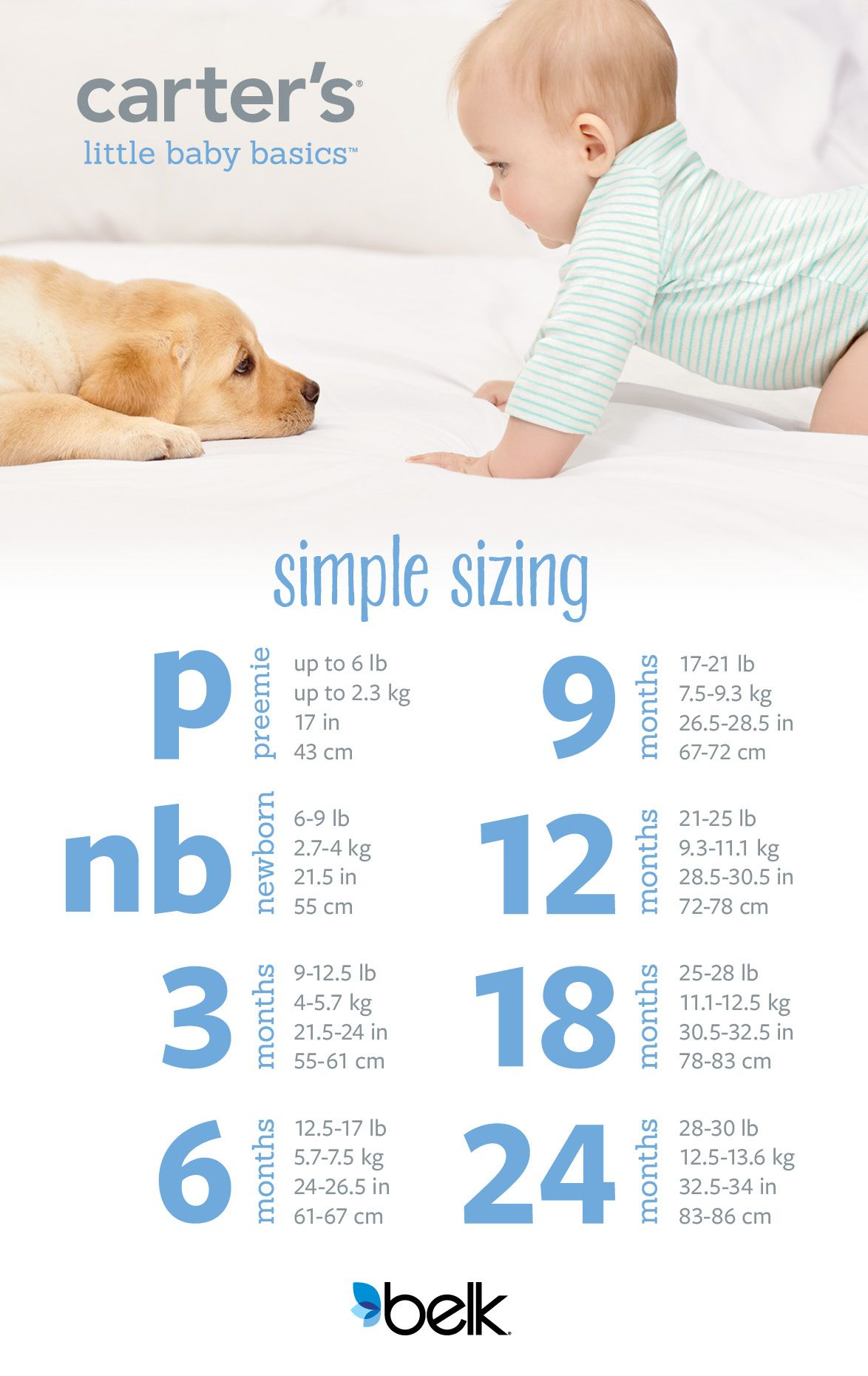 Your guide to simple sizing for your little one an easy look at its hard to know what size to buy baby we hope this simple guide helps our preemie size now fits up to 6 lbs and when in doubt just buy a size geenschuldenfo Image collections
