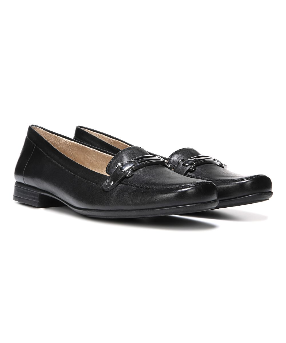 aa5cd5cd518ebf Black Isobel Leather Loafer Leather Loafers