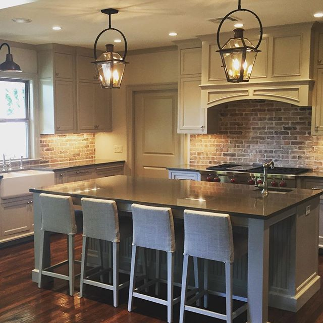 A Touch Of #nola In This Texas Kitchen Bevolo French Quarter Beauteous Kitchen Lanterns 2018
