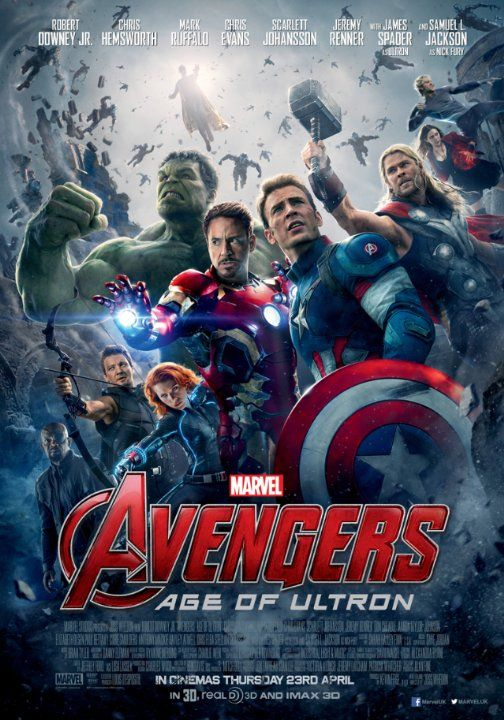 The Avengers II: The age of Ultron Next April the 30th