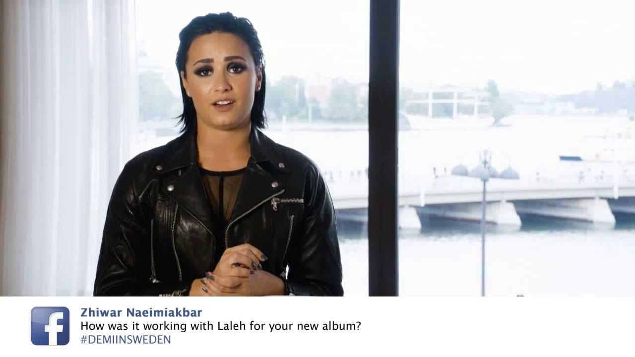 Demi Lovato - Fan Q&A Sweden // #DEMIINSWEDEN - YouTube