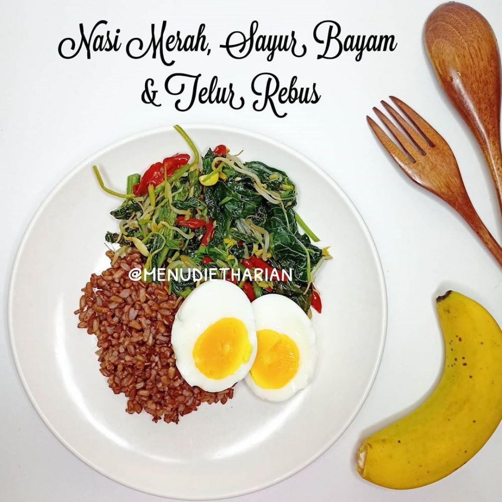 Resep Diet Makan Siang C Instagram Makan Siang Makanan Diet Makanan Dan Minuman