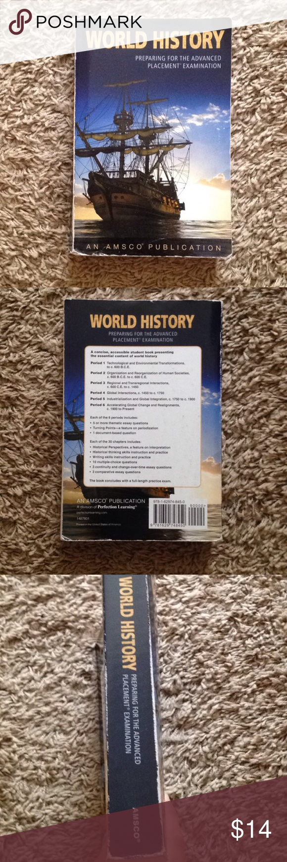 World History: Preparing for the AP Exam by AMSCO World History Book