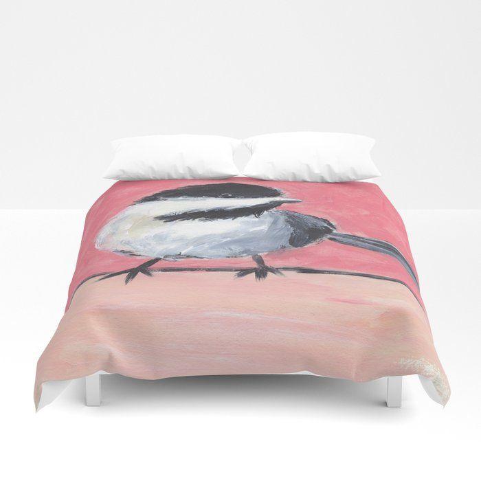 Buy Little Bird Duvet Cover By Artsyallyv Worldwide Shipping
