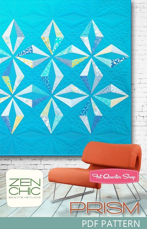 Zen Chic Quilts Prism Quilt Pattern Zen Chic Sewing