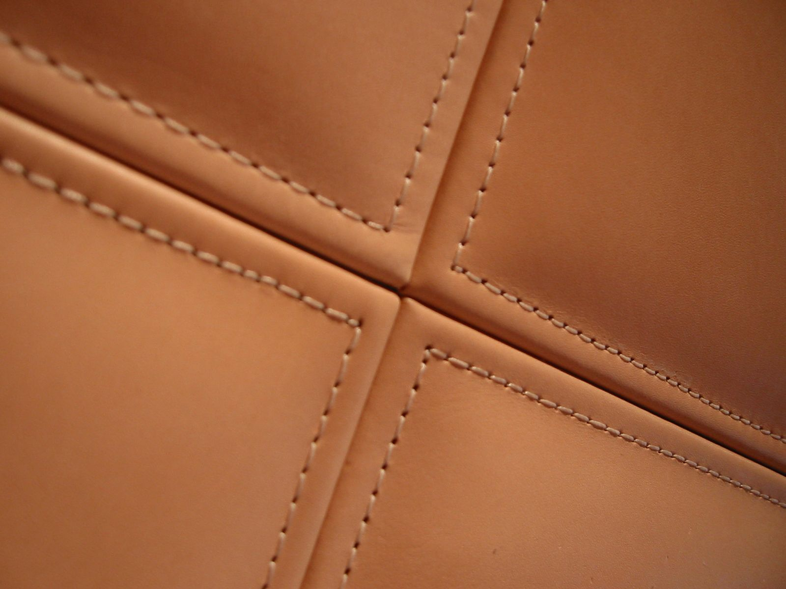 Wall Stitching Leather Doors Leath