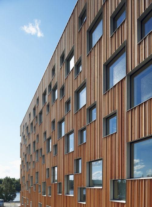 Umeå Architecture School,Umeå,,Sweden.Made by   White Arkitekter AB Studio.