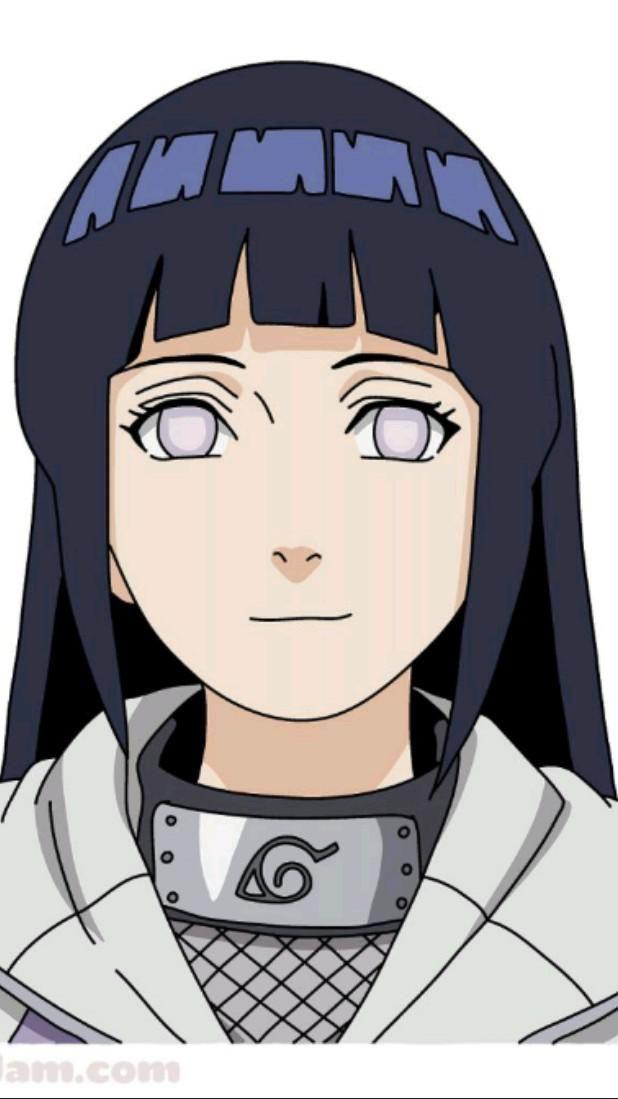 How to draw Hyuga Hinata from Naruto