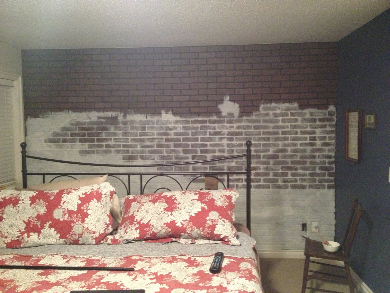 Brick Paneling Lowes On Main Wall Then A Chalk Paint
