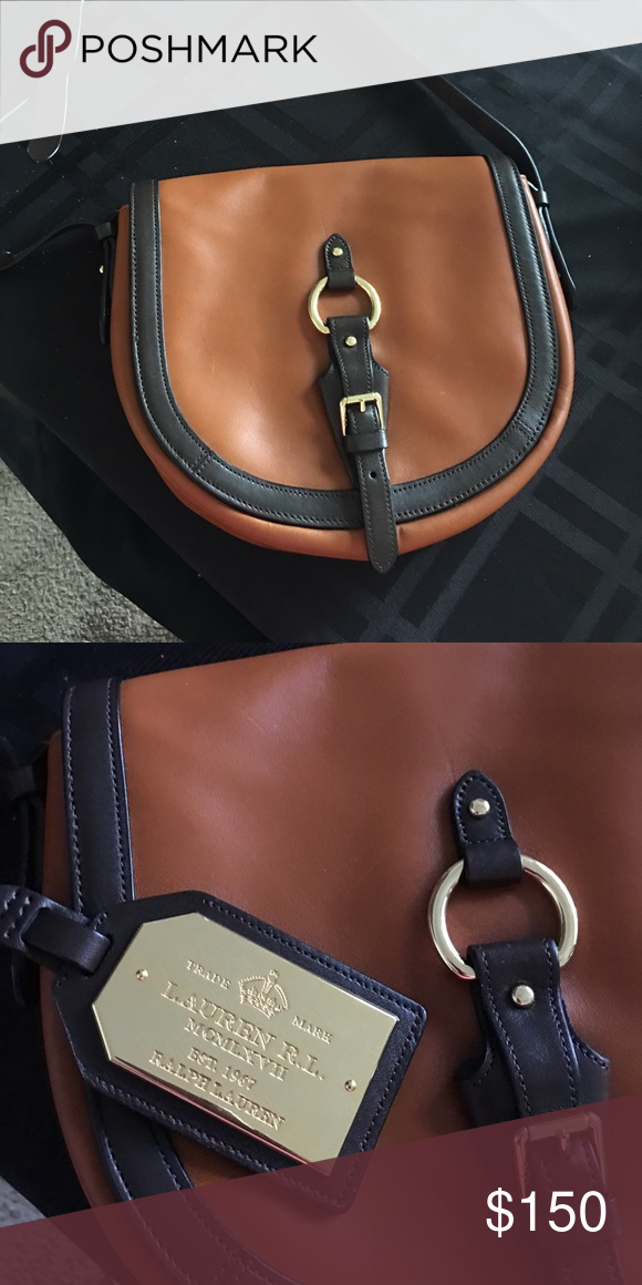 712d7f09174 Authentic Ralph Lauren bag. Authentic leather Ralph Lauren bag  maybe  carried crossbody. In excellent used condition. Priced to sell. Offers  accepted.