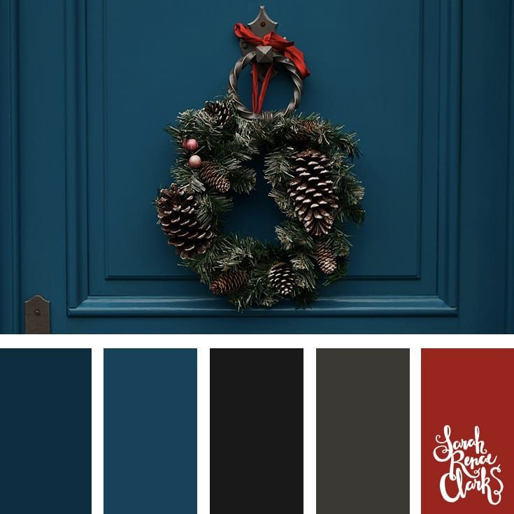 25 Christmas Color Palettes Christmas color scheme, Christmas