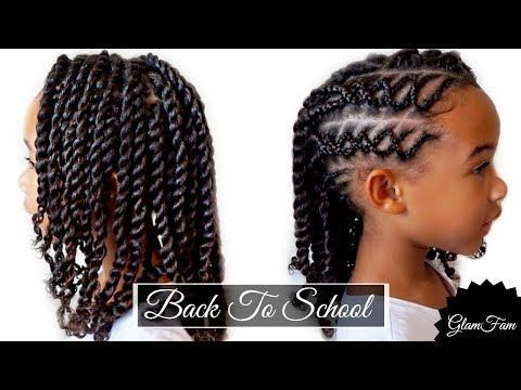 Braids Twists Cute Easy Protective Style Natural Hair For Kids Youtube Hair Braided Hairstyles For Teens Kids Braided Hairstyles Natural Hair Styles