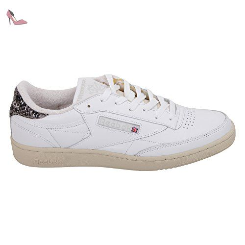 Reebok, Chaussures basses pour Homme - blanc - Bianco, 10 EU - Chaussures  reebok 35a2fe62783e