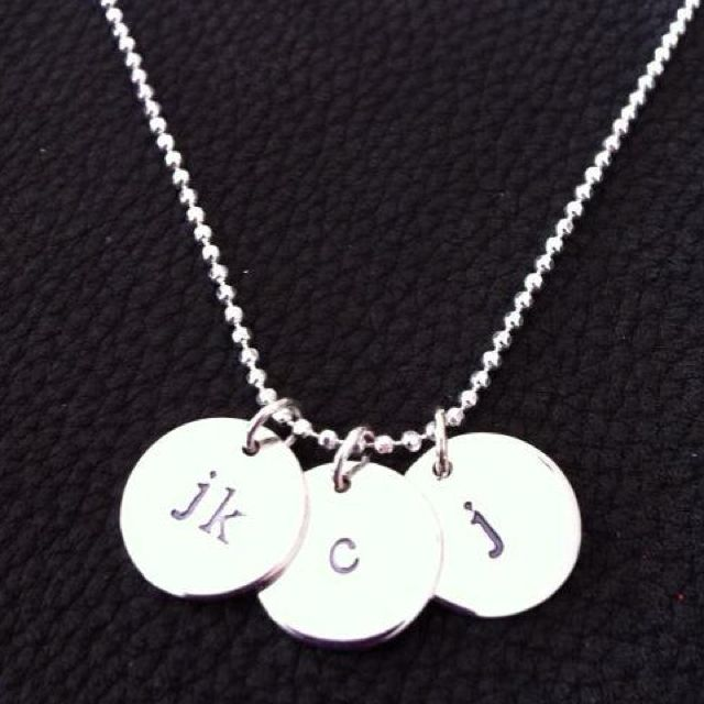 Simple sterling silver by Three Daughters Designs www.threedaughtersdesigns.com