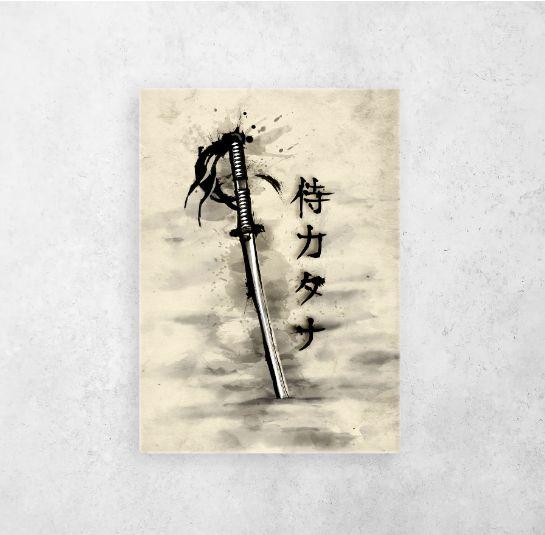 #sumie #sumiestyle #sumi-e #japanese #oldjapan #japan | Displate thumbnail