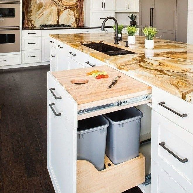 36+ The Ultimate Modern Farmhouse Kitchen Joanna Gaines Cabinets Trick - homeknicknack #longnarrowkitchen