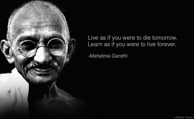 Gandhi's top 10 rules for changing the world Gandhi