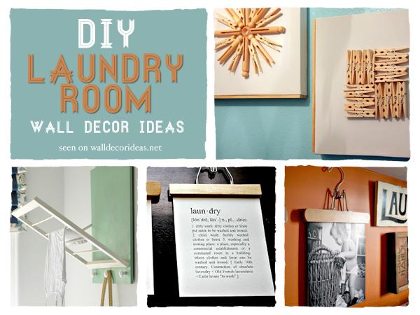 7 diy laundry room wall decor ideas creative ideas - Laundry room wall ideas ...