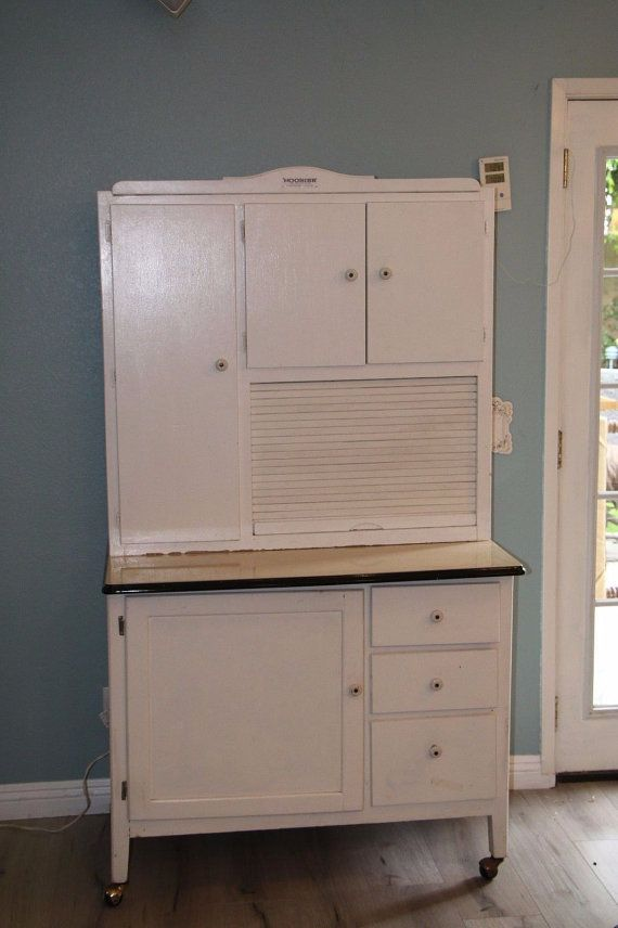 Gorgeous Hoosier Bakers Pantry cupboard. Dimensions are 68 Tall ...