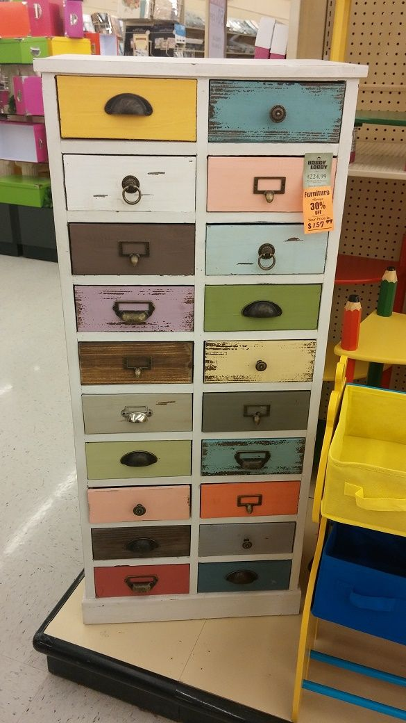 Storage Drawer Set From Hobby Lobby
