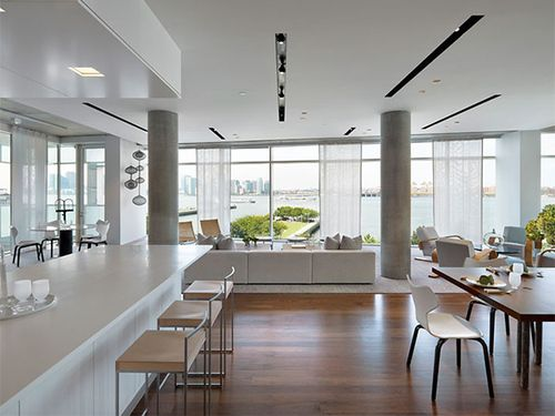 Modern Column Designs Loft Interior Design Loft Spaces Interior Columns