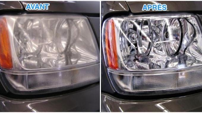 voici la nouvelle astuce pour nettoyer les phares de votre voiture le phare les avoirs et. Black Bedroom Furniture Sets. Home Design Ideas
