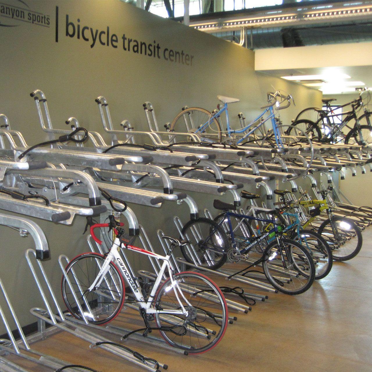 bike rack double - Google Search