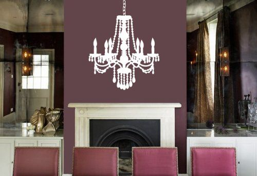 Housewares Vinyl Decal Decorative Chandelier Home Wall Art Decor Removable Stylish Sticker Mural Unique Design for Any Room Beauty Salon Decal House http://www.amazon.com/dp/B00F4VII9A/ref=cm_sw_r_pi_dp_LqOUtb1WEGE6B3SF