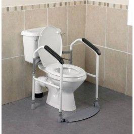 cadre de toilette pliant buckingham point d 39 appui stable pour les personnes g es ou en. Black Bedroom Furniture Sets. Home Design Ideas