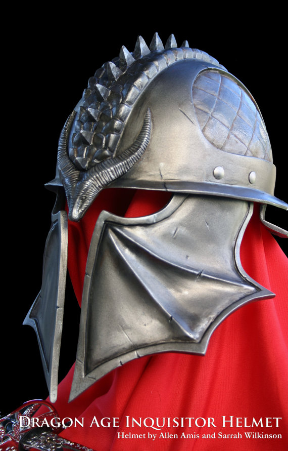 Lovely Dragon Age: Inquisition Helmet (Inquisitor) for Cosplay | Dragon  CV99