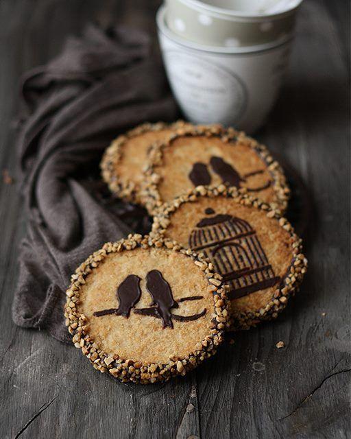 My Happy Dish: Peanut Butter & Chocolate Cookies from La Receta de la Felicidad