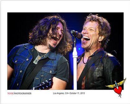 Jon Bon Jovi and Phil X!