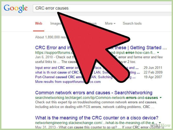 Fix a Cyclic Redundancy Check Error | Others