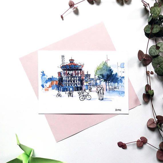 Carte Postale Nantes Carrousel Des Mondes Marins Illustration