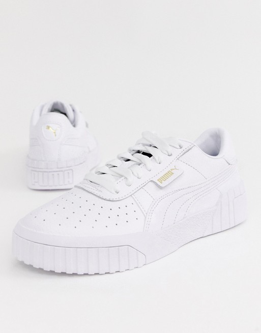 Puma Cali sneakers in triple white (With images) | Puma cali ...