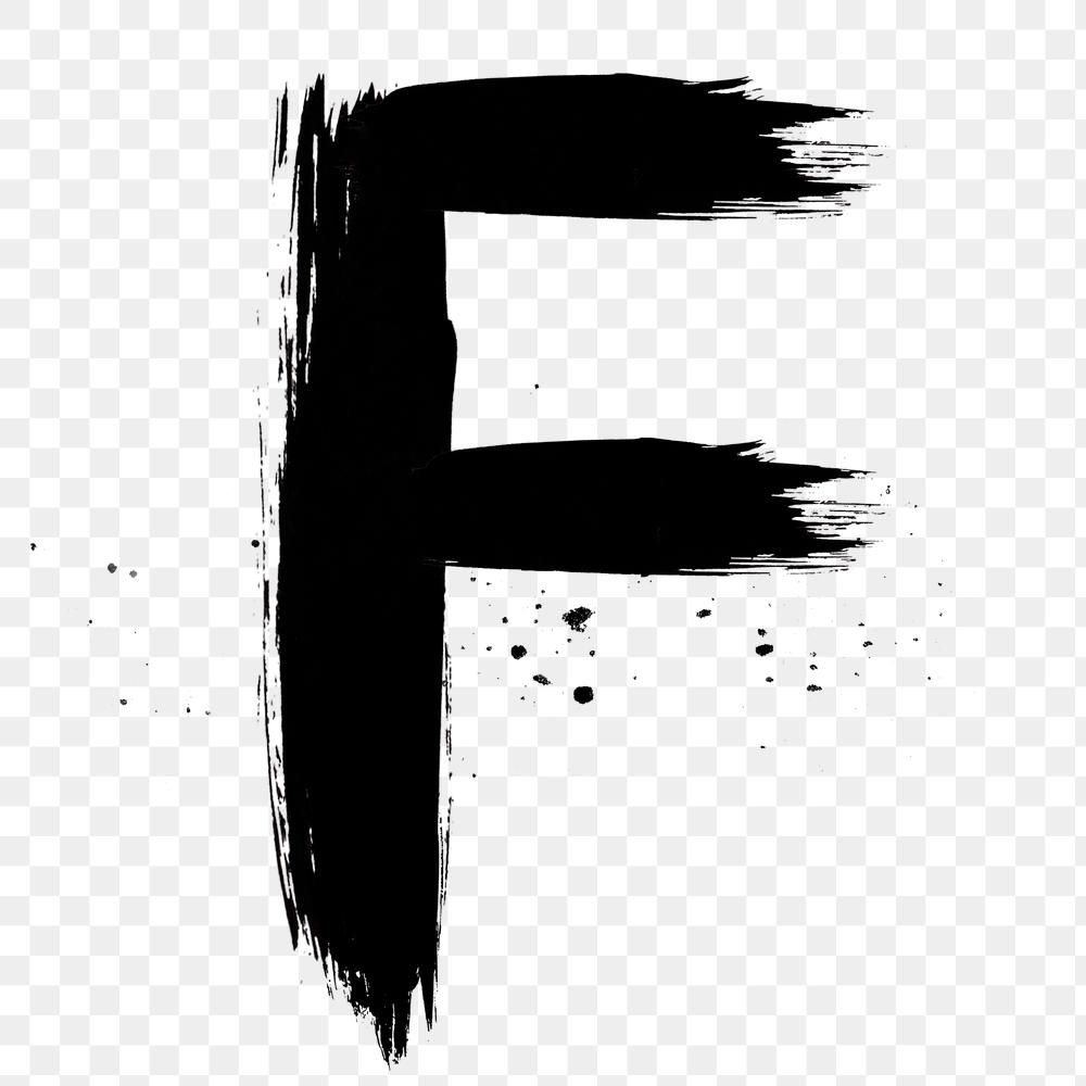 Letter F Png Grunge Hand Drawn Font Typography Free Image By Rawpixel Com Mind Hand Drawn Fonts Typography Hand Drawn Typography Fonts