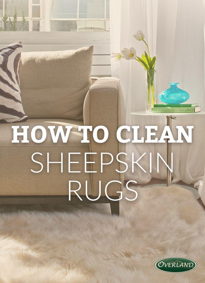 Sheepskin Cleaning & Care Sheepskin rug, Home, Cleaning