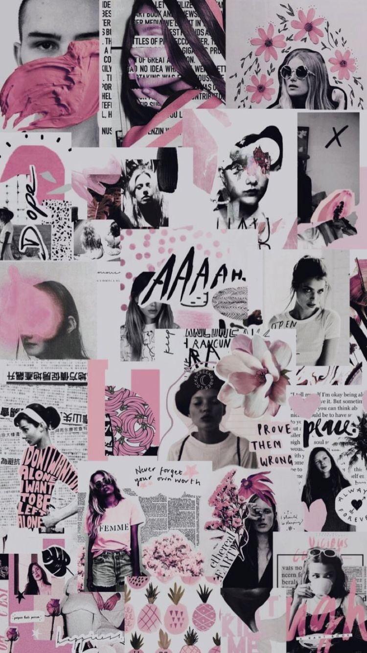 Aesthetic Collage Wallpaper Stranger Things Aesthetic