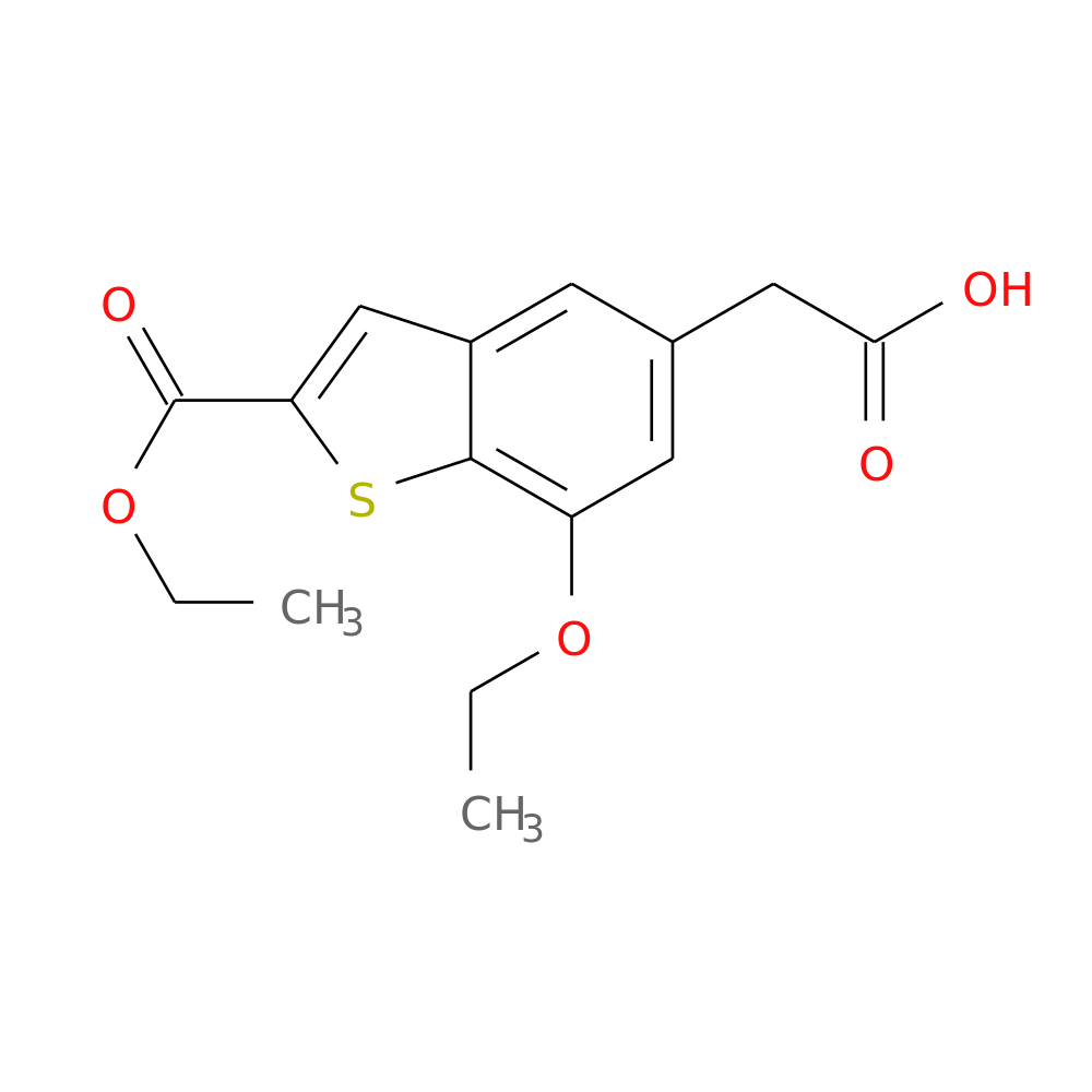 ETHYL 5-(CARBOXYMETHYL)-7-ETHOXYBENZOTHIOPHENE-2-CARBOXYLATE is now  available at ACC Corporation