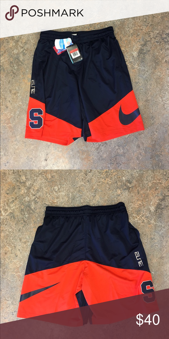 3b8b08971a2b Syracuse Orange Nike Elite Dri-Fit Large Shorts Syracuse Orange Nike Dri-Fit  Elite Classic Shorts. Size Large. Nike Shorts Athletic