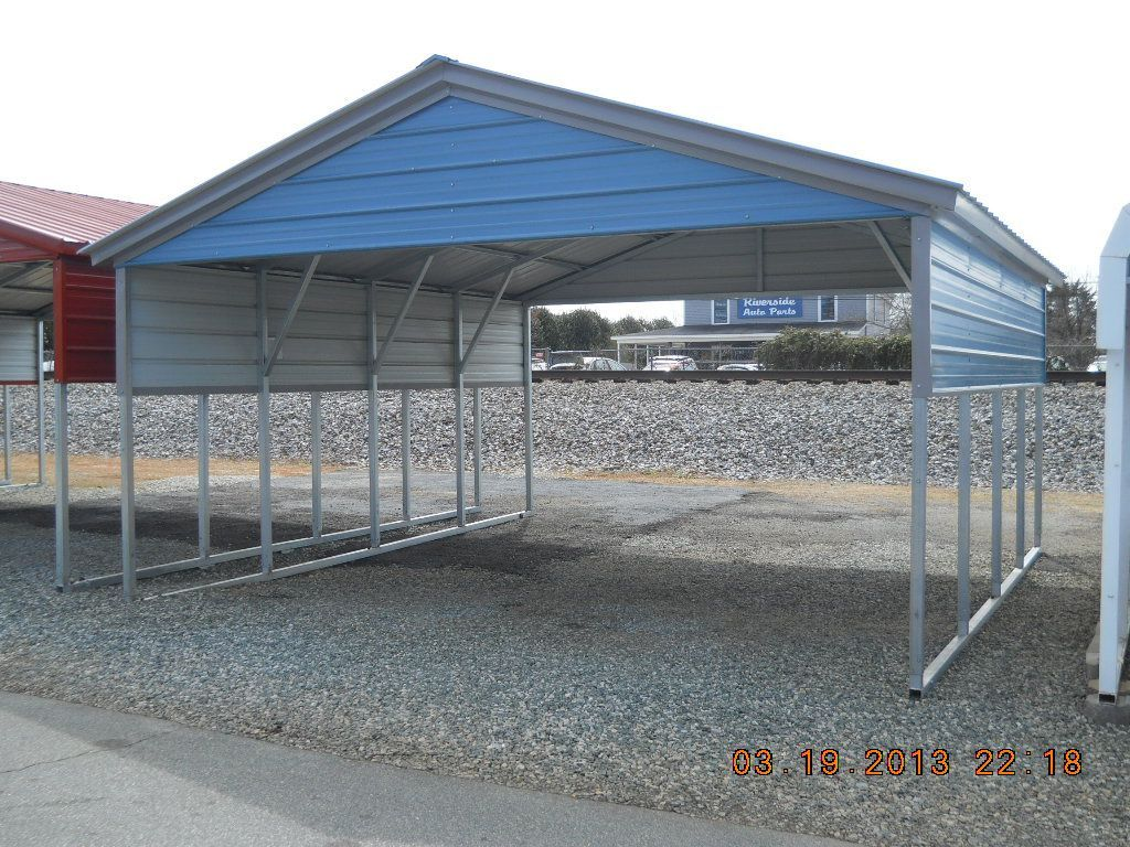 Vertical Roof Carport (With images) Carport, Metal