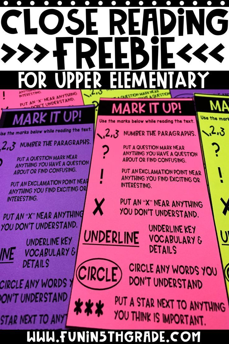 Get Started with Close Reading in Upper Elementary Close