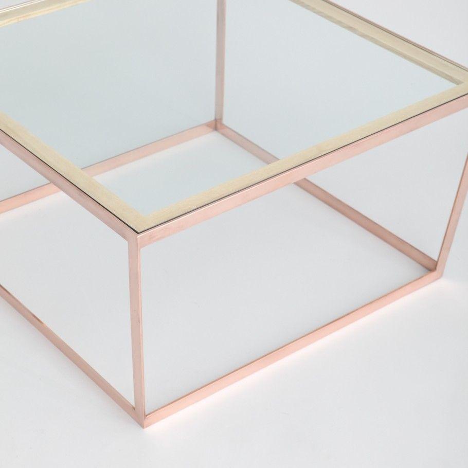 Steel Coffee Table Frame Iacoli Mcallister Utilize Brass Copper Bronze Steel In