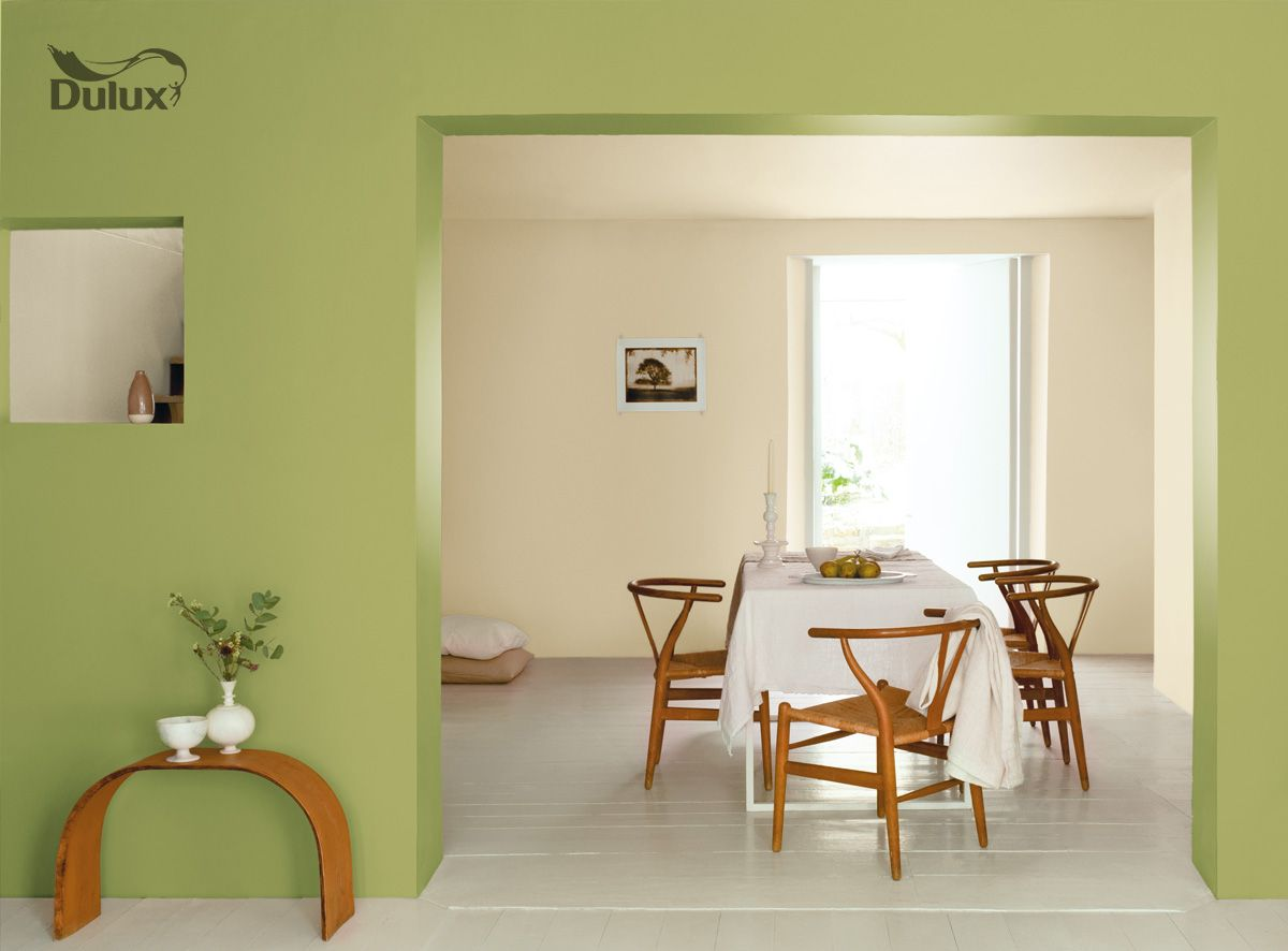 Dulux green dining room greens pinterest nice for Living room ideas dulux
