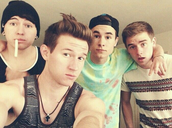 4/6 Jc Caylen, Ricky Dillon, Kian Lawley, Connor Franta ...